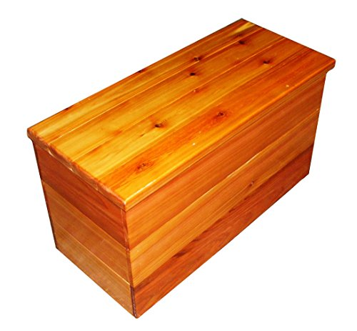 Cedar-Chest-and-Storage-Bench-Size-30-x-19-x-13-inches-by-Steves-Gift-Shoppe-0