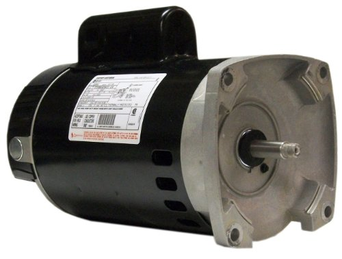 Century-B2854-1-12-HP-3450-RPM-80160-Amps-11-Service-Factor-56Y-Frame-PSC-ODP-Enclosure-Square-Flange-Pool-Motor-0