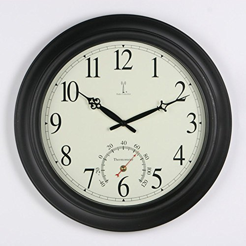 Chaney-Balmoral-Atomix-Black-18-in-Wall-Clock-0