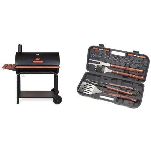 Char Griller Square Inch Charcoal Grill Smoker Farm