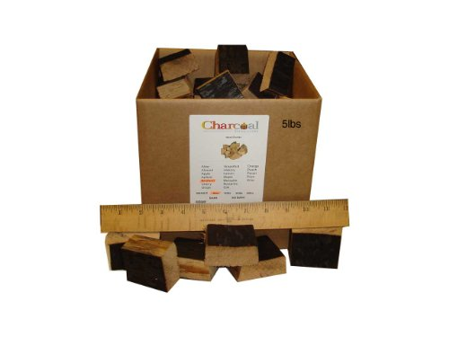 CharcoalStore-Bourbon-Barrel-Wood-Smoking-Chunks-10-Pounds-0
