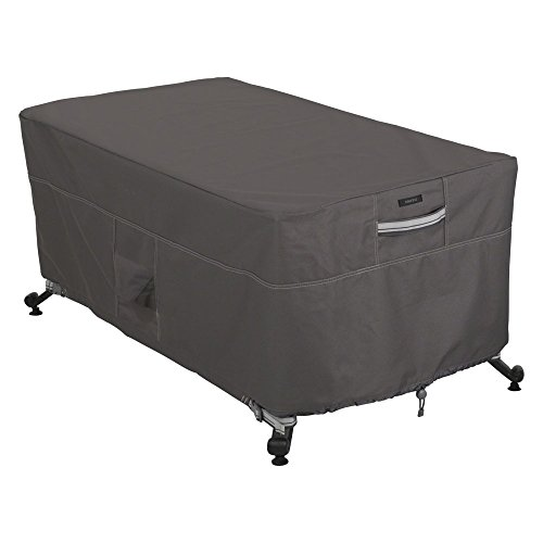 Classic-Accessories-Ravenna-56L-x-38W-in-Rectangular-Fire-Pit-Table-Cover-0