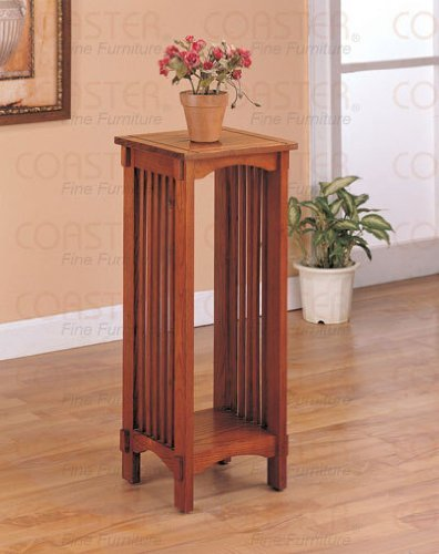 Coaster-Home-Furnishings-Kittitas-Plant-Stand-in-Solid-Wood-Oak-0