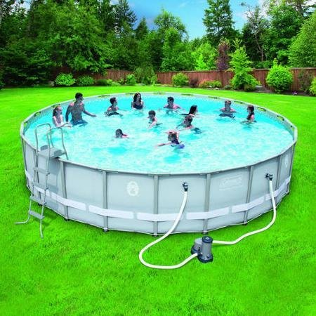 Coleman-22-x52-Power-Steel-Frame-Above-Ground-Swimming-Pool-set-0