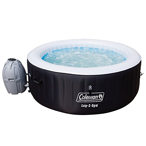 Coleman-Miami-4-Person-Inflatable-Spa-Hot-Tub-Black-0