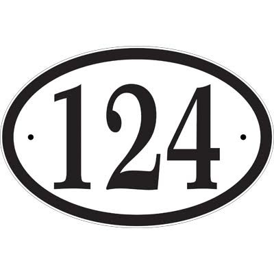 Comfort-House-Address-Sign-CO69-white-with-black-characters-0