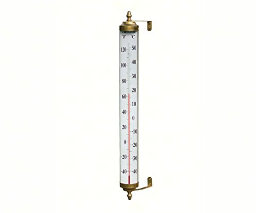 Conant-Custom-Brass-CCBT17LFB-Thermometer-Living-Finish-Brass-24-in-0