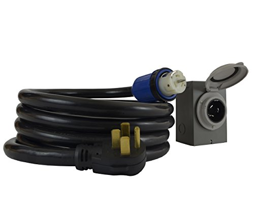 Conntek-GIB1450-015-50-Amp-DUO-RainSeal-Kit-NEMA-14-50P-4-Prong-Temporary-Power-Cord-with-Inlet-Box-15-0