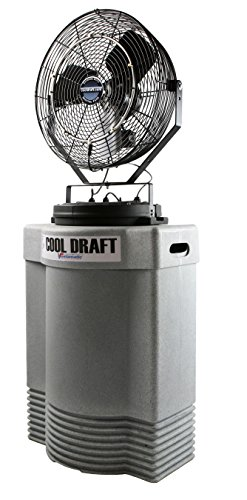 Cool-Draft-CDHP1840GRY-High-Pressure-1000-PSI-22-Inch-Diameter-4-Position-3-Speed-Misting-Fan-0