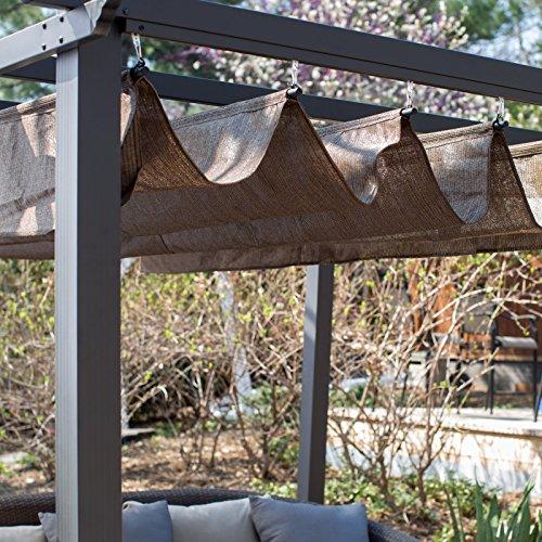 Coolaroo Constantine Pergola Farm Garden Superstore