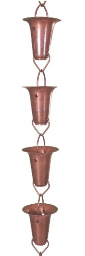 Copper-Funnel-Rain-Chain-85-Foot-0