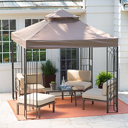 Coral-Coast-Prairie-Grass-8-x-8-ft-Gazebo-Canopy-0