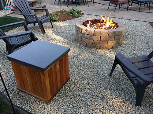 Create Convert Your Wood Fire Pit To Propane Diy Propane