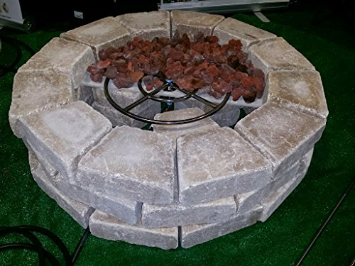 Create/ Convert Your Wood Fire Pit to Propane; DIY Propane ...