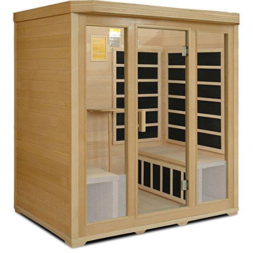 Crystal-Sauna-BH400-4-Person-Infrared-Sauna-0