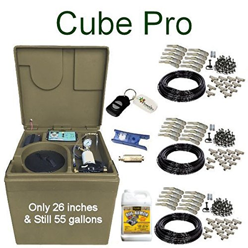 Cube-PRO-Pynamite-Mosquito-Misting-System-small-26-inch-cube-still-55-gallons-with-30-Nozzle-Kit-and-FREE-Misting-Concentrate-0