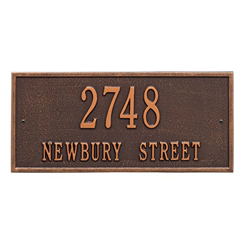 Customized-Harford-Address-Plaque-2-Lines-16W-x-7H-0