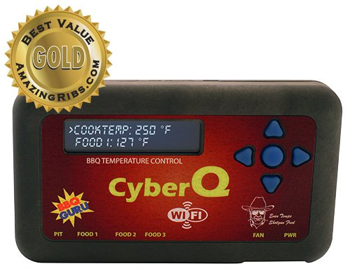 CyberQ-Wifi-BBQ-Temperature-Controller-3-Digital-Meat-Thermometers-Big-Green-Egg-or-Ceramic-Adaptor-and-Pit-Viper-Fan-0