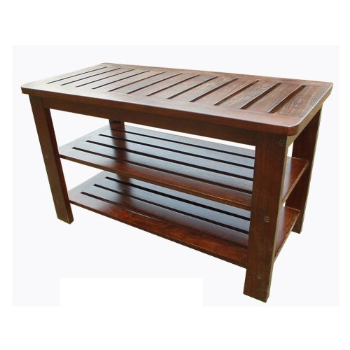 D-art-Mahogany-Michaela-Home-Office-Outdoor-Entryway-Wooden-Shoe-Storage-Rack-Bench-0