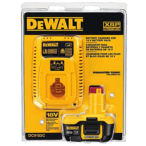 Dewalt Dc9182c 18v Lithium Ion Battery And Charger Farm