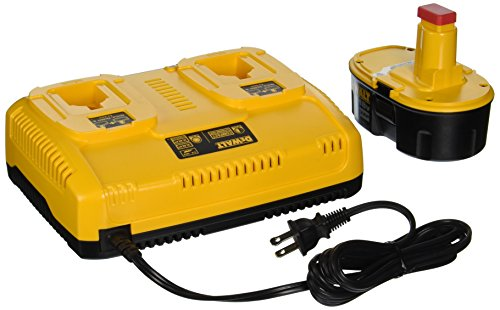 DEWALT-DC9320BP-72-to-18-Volt-NiCdNiMHLi-Ion-1-Hour-Dual-Port-Charger-and-XRP-18-Volt-Battery-Combo-Pack-0