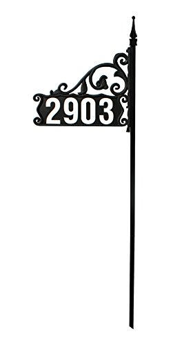DIY-Boardwalk-Reflective-911-Home-Address-Sign-for-Yard-44-Ready-to-Apply-Reflective-4-Numbers-Included-Wrought-Iron-Look-0