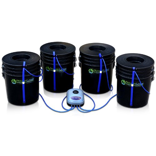Deep-Water-Culture-DWC-Hydroponic-Bubbler-Bucket-Kit-by-PowerGrow--Systems-4-5-Gallon-6-Buckets-0