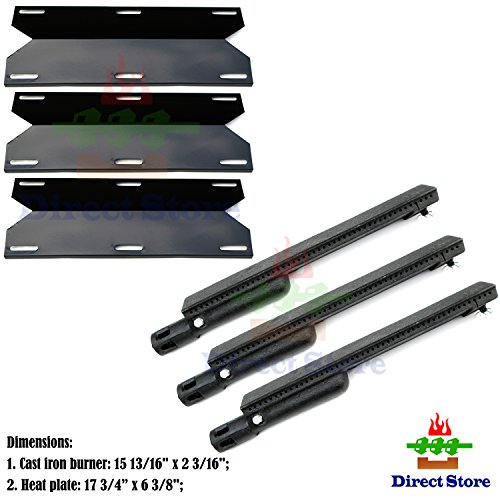 Direct-store-Parts-Kit-DG223-Replacement-Jenn-Air-Gas-Grill-Repair-Kit-Gas-Grill-Burner-and-Heat-Plate-3-Pack-0