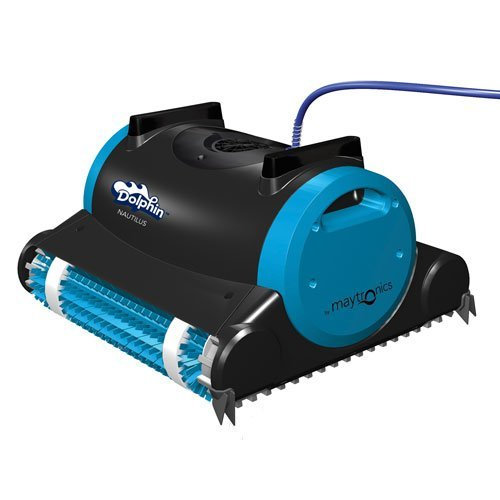 Dolphin-99996323-Dolphin-Nautilus-Robotic-Pool-Cleaner-with-Swivel-Cable-60-Feet-0