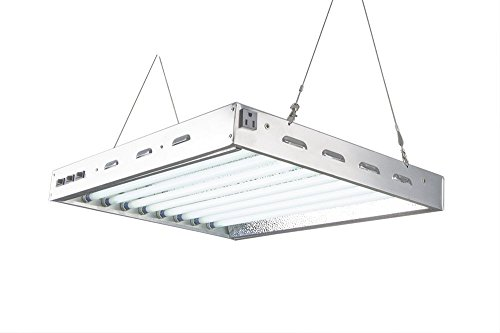 DoubleLux-DL8028-T5-Fluorescent-2Ft-8-Lamps-w-6500K-and-20000-Lumen-Grow-Light-System-0