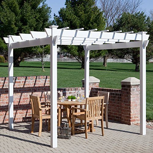 Dura-Trel-Kingston-7-x-7-ft-Vinyl-Pergola-0