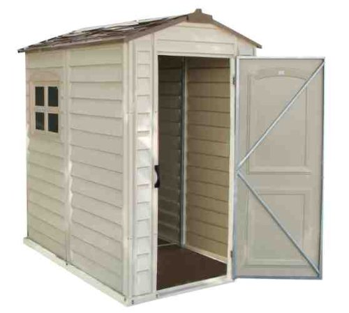 Duramax-30621-StorePro-Vinyl-Shed-with-Floor-4-by-6-Inch-0