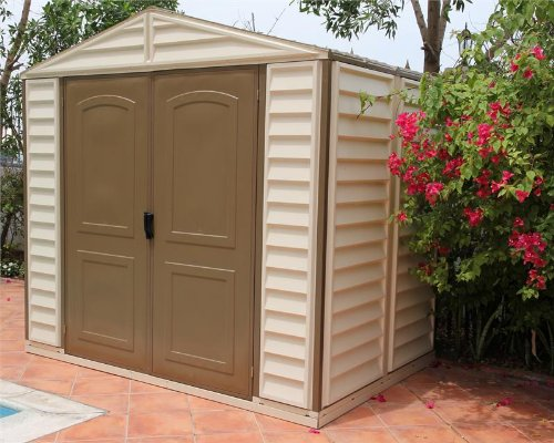 Duramax-Woodside-8x6-Vinyl-Storage-Shed-with-Foundation-Kit-0