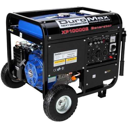 DuroMax-XP10000E-8000-Running-Watts10000-Starting-Watts-Gas-Powered-Portable-Generator-0