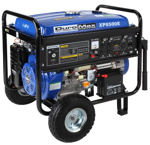 DuroMax-XP8500E-CA-8500-Watt-16-HP-OHV-4-Cycle-Gas-Powered-Portable-Generator-With-Wheel-Kit-And-Electric-Start-CARB-Compliant-0