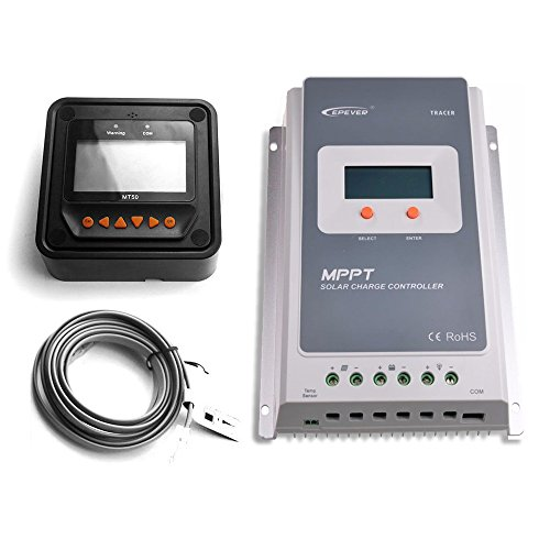 EPEVER-30A-MPPT-Solar-Charge-Controller-100V-input-Tracer-A-Series-3210A-MT-50-Solar-Charge-LCD-Display-0