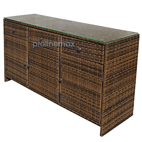 Rattan buffet cabinet mf cabinets for Sideboard rattan