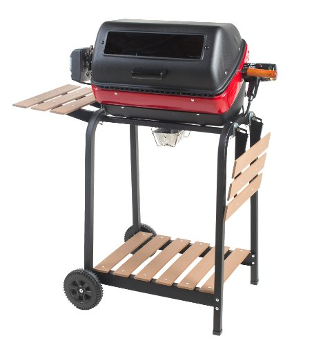 Easy-Street-Electric-Cart-Grill-with-two-folding-composite-wood-side-tables-shelf-and-rotisserie-0
