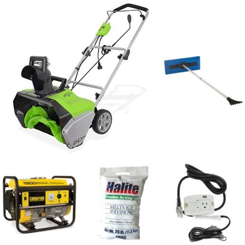 Electric-Snow-Thrower-Broom-Ice-Melt-De-Icing-Cable-and-Generator-Bundle-0