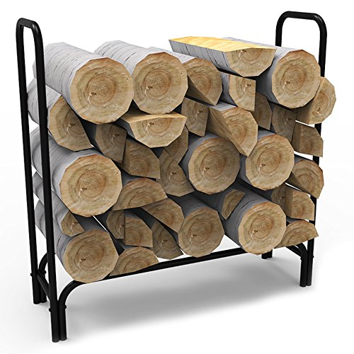 Elite-Flame-4-Foot-Indoor-Outdoor-Firewood-Shelter-Log-Rack-with-All-Weather-Cover-0