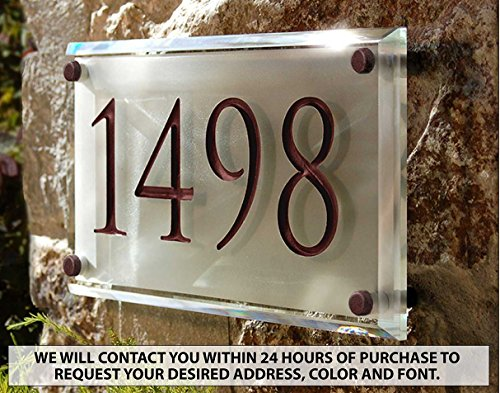 Engraved-Crystal-Address-Plaque-Unique-and-elegant-0