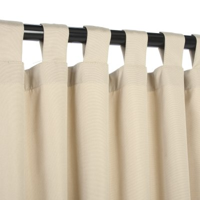 Essentials-by-DFO-Antique-Beige-Sunbrella-outdoor-curtain-with-tabs-120-long-0