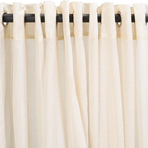 Essentials-by-DFO-Sheer-BeigeExtra-Wide-Outdoor-Curtain-with-Nickel-Grommets120-x-120-0