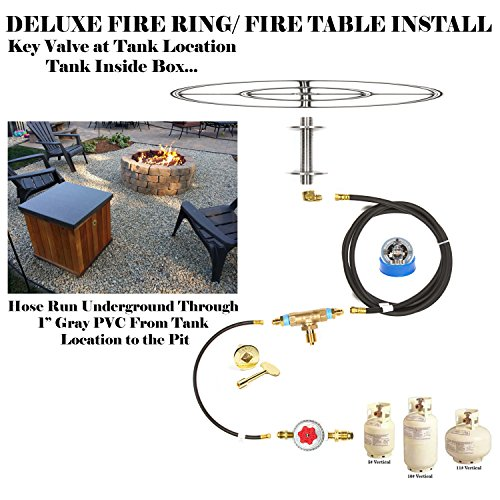 Fr18ck Complete 18 Deluxe Fire Pit Kit 316 Stainless