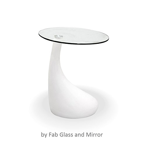 Fab-Glass-and-Mirror-Teardrop-Side-Table-White-0