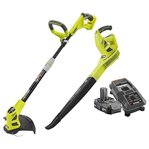 Factory Reconditioned Ryobi ZRP217221 Hybrid String Trimmer and Blower Kit  (P2200, P2107, (1) P102, P118)