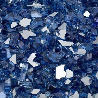 Fire-Glass-14-in-25-lb-Features-Cobalt-Blue-Reflective-Tempered-Adds-Charm-to-any-Outdoor-Areas-0