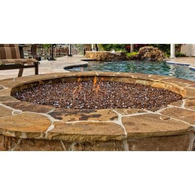 Fire-Glass-14-in-25-lb-Features-Copper-Reflective-Tempered-Adds-Charm-to-any-Fireplaces-0-0