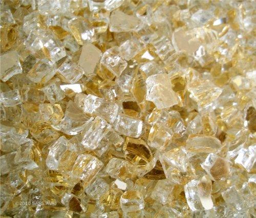 Fireglass-Fireplace-Fire-Pit-Glass-14-Gold-Reflective-40-LBS-0-0