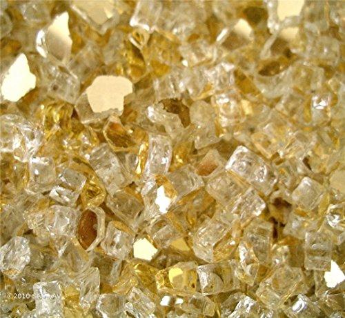 Fireglass-Fireplace-Fire-Pit-Glass-14-Gold-Reflective-40-LBS-0